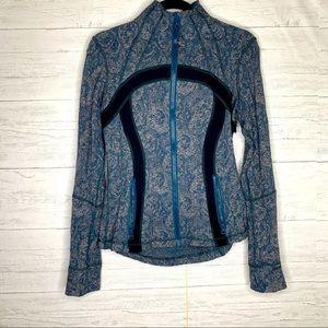 Lululemon zip up jacket/10